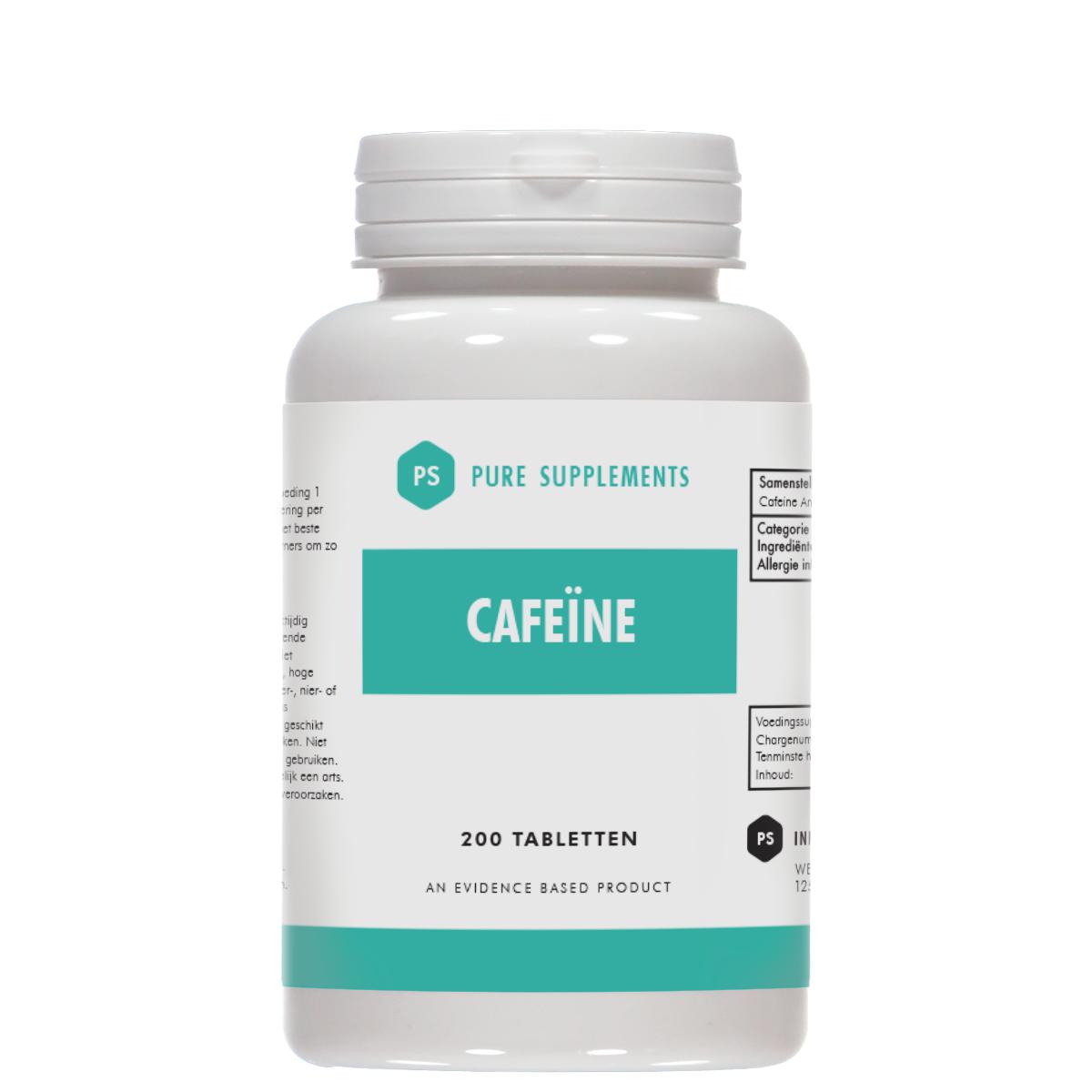 Cafeine-van-pure-supplements-meer-kracht-uithoudingsvermogen-vetverlies