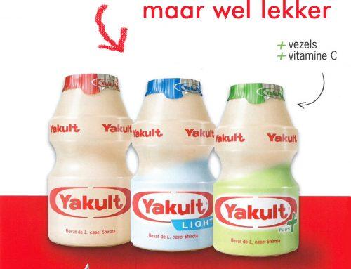 Yakult, meer suiker dan cola.